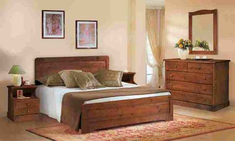 Camera matrimoniale completa in legno massello annunci - Musica da camera da letto ...